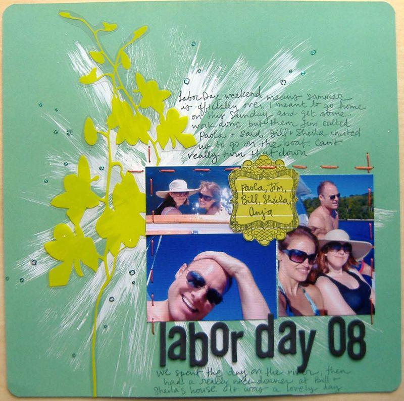 Anja - labor day