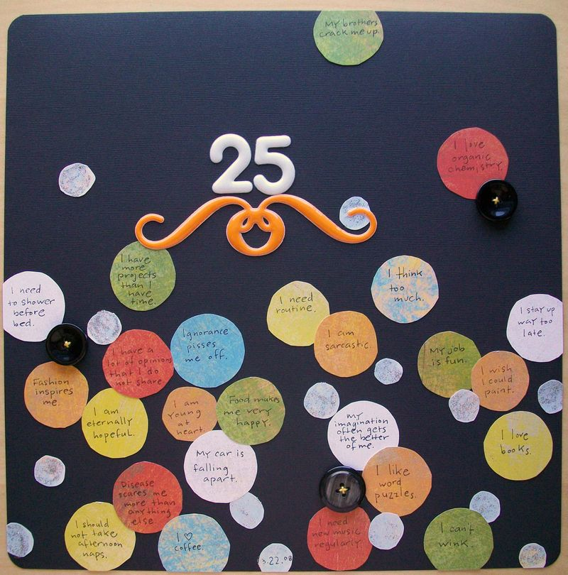 Anja - 25 things