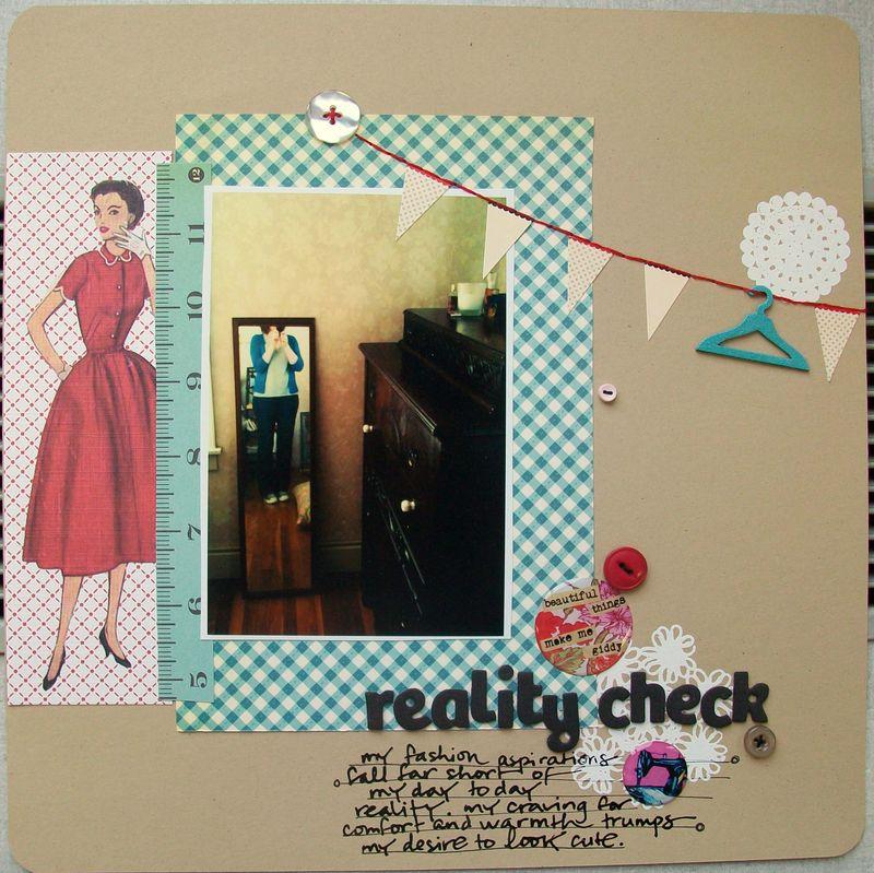 Anja - reality check
