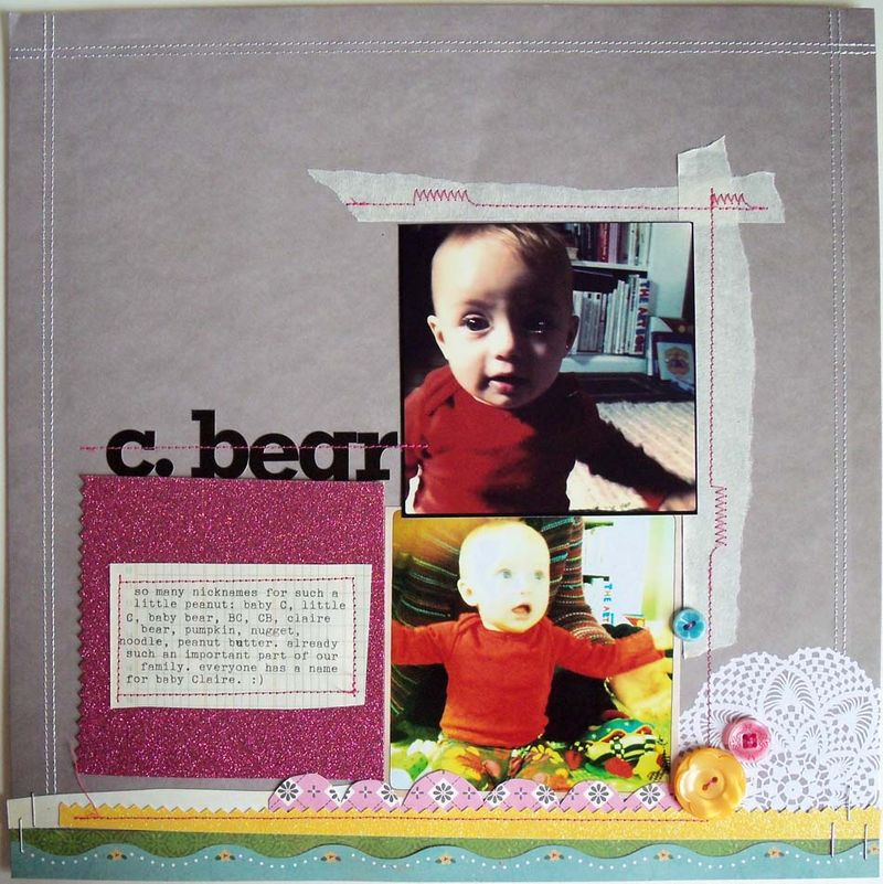 C bear 1 gal